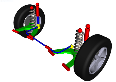 Semi-trailing Arm Suspension